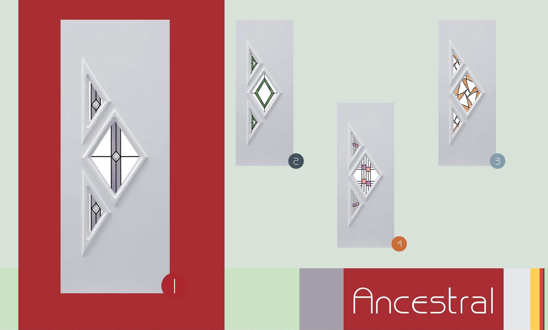 Inoutic Ancestral műanyag bejárati ajtó