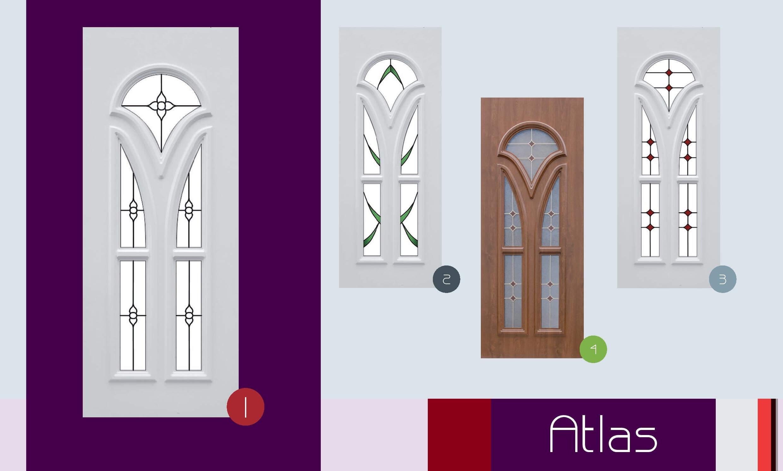 Inoutic Atlas műanyag bejárati ajtó
