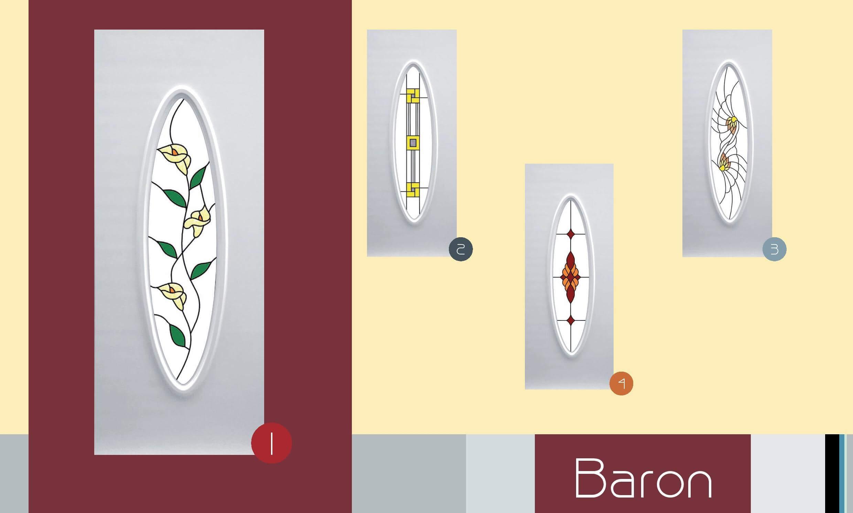 Inoutic Baron műanyag bejárati ajtó