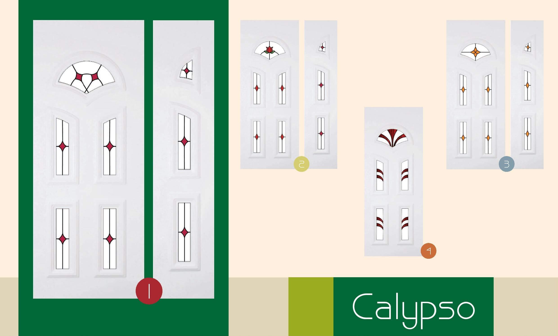 Inoutic Calypso műanyag bejárati ajtó