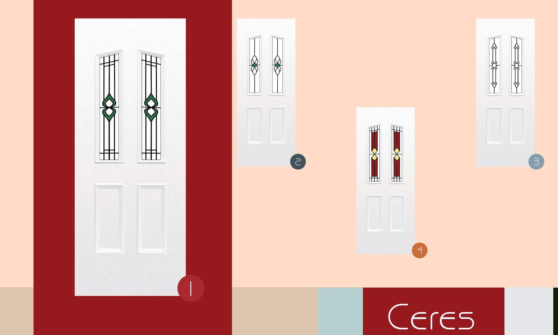 Inoutic Ceres műanyag bejárati ajtó