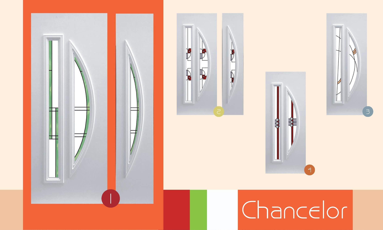 Inoutic Chancelor műanyag bejárati ajtó