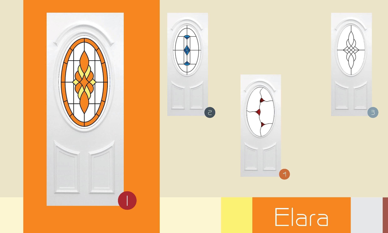 Inoutic Elara műanyag bejárati ajtó