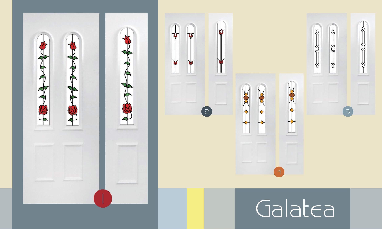 Inoutic Galatea műanyag bejárati ajtó