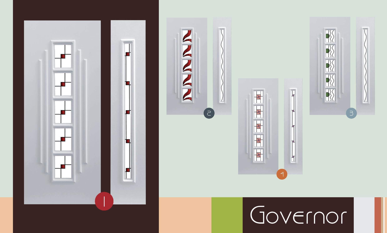 Inoutic Governor műanyag bejárati ajtó