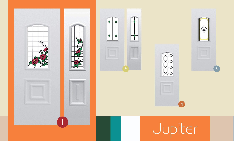 Inoutic Jupiter műanyag bejárati ajtó
