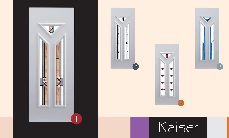 Inoutic Kaiser műanyag bejárati ajtó