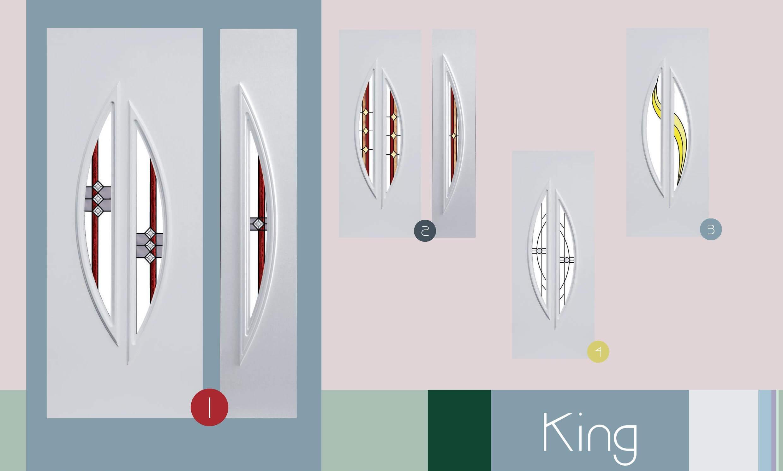 Inoutic King műanyag bejárati ajtó