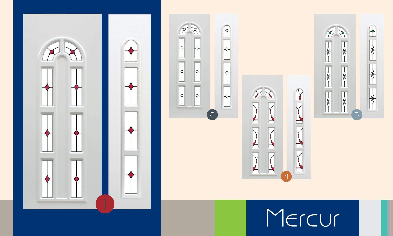 Inoutic Mercur műanyag bejárati ajtó