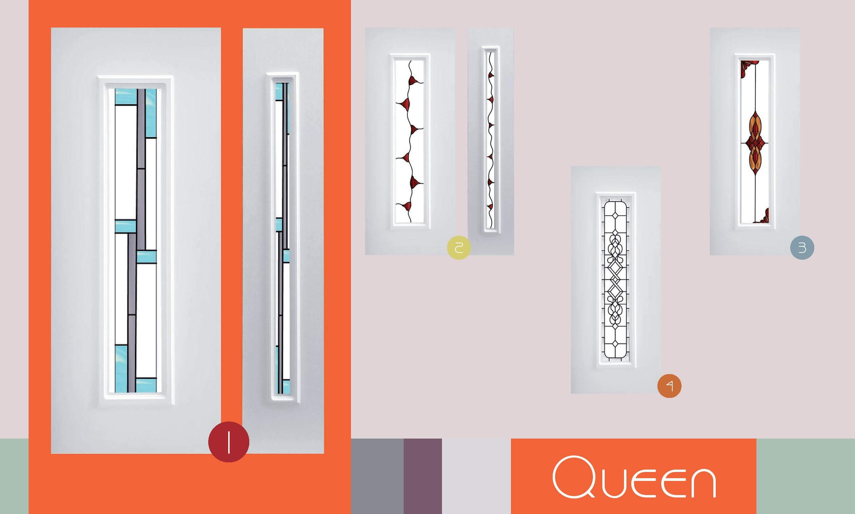 Inoutic Queen műanyag bejárati ajtó