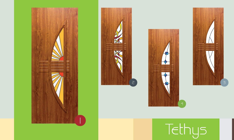 Inoutic Tethys műanyag bejárati ajtó