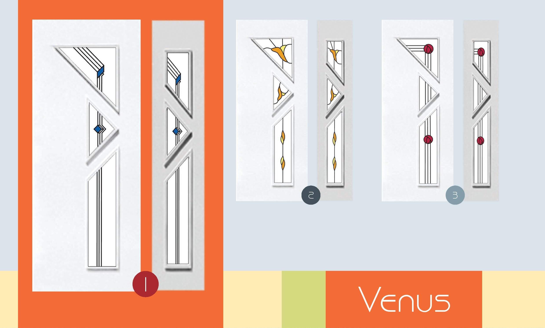 Inoutic Venus műanyag bejárati ajtó